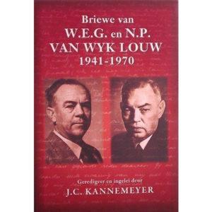 Briewe van WEG en NP van Wyk Louw, hemel en see boeke, afrikaanse boeke